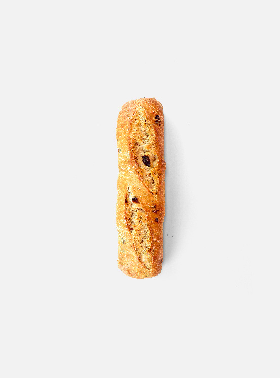 PAN CON PASAS (7,5%) Y NUECES (5%)